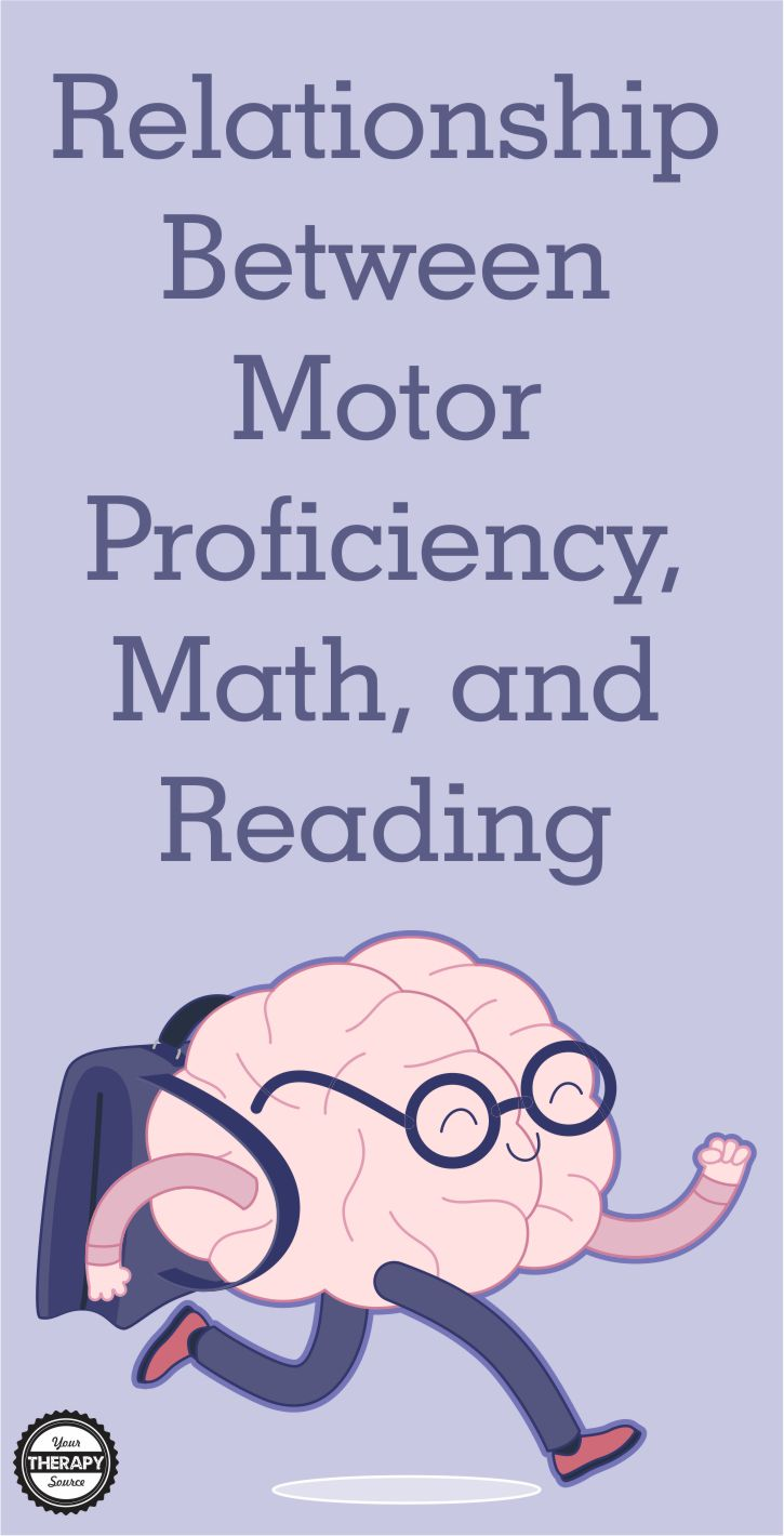 The International Journal of Environmental Research and Public Health published a research review on the relationship between motor proficiency, math, and reading in school-aged children and adolescents.  Previous research indicated that there are positive associations between physical activity, cognition, and academic performance in children. This review investigated which factors influence the relationship between motor proficiency, math, and reading.
