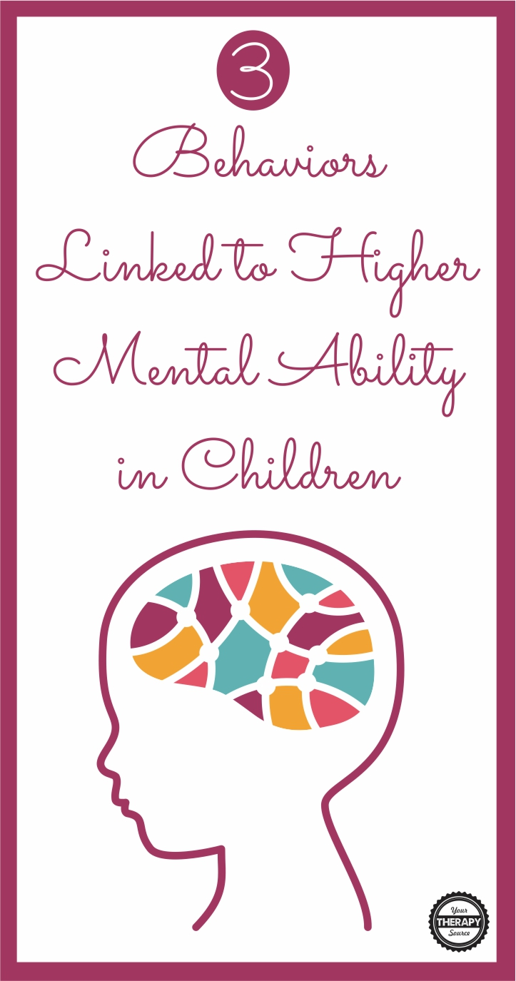 What goes on over the course of a 24 hour period for a student in the home greatly affects what goes on at school and vice versa.  Recent research on over 4000 children and adolescents in the United States, reveals that there are 3 behaviors linked to higher mental ability in children.