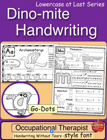 If you have students who love dinosaurs and need to work on their handwriting, thenDino-mite Handwriting is for you. A to Z dinosaur handwriting includes science-based descriptions and fun formation graphics to pique the interest of both reluctant and sophisticated learners.