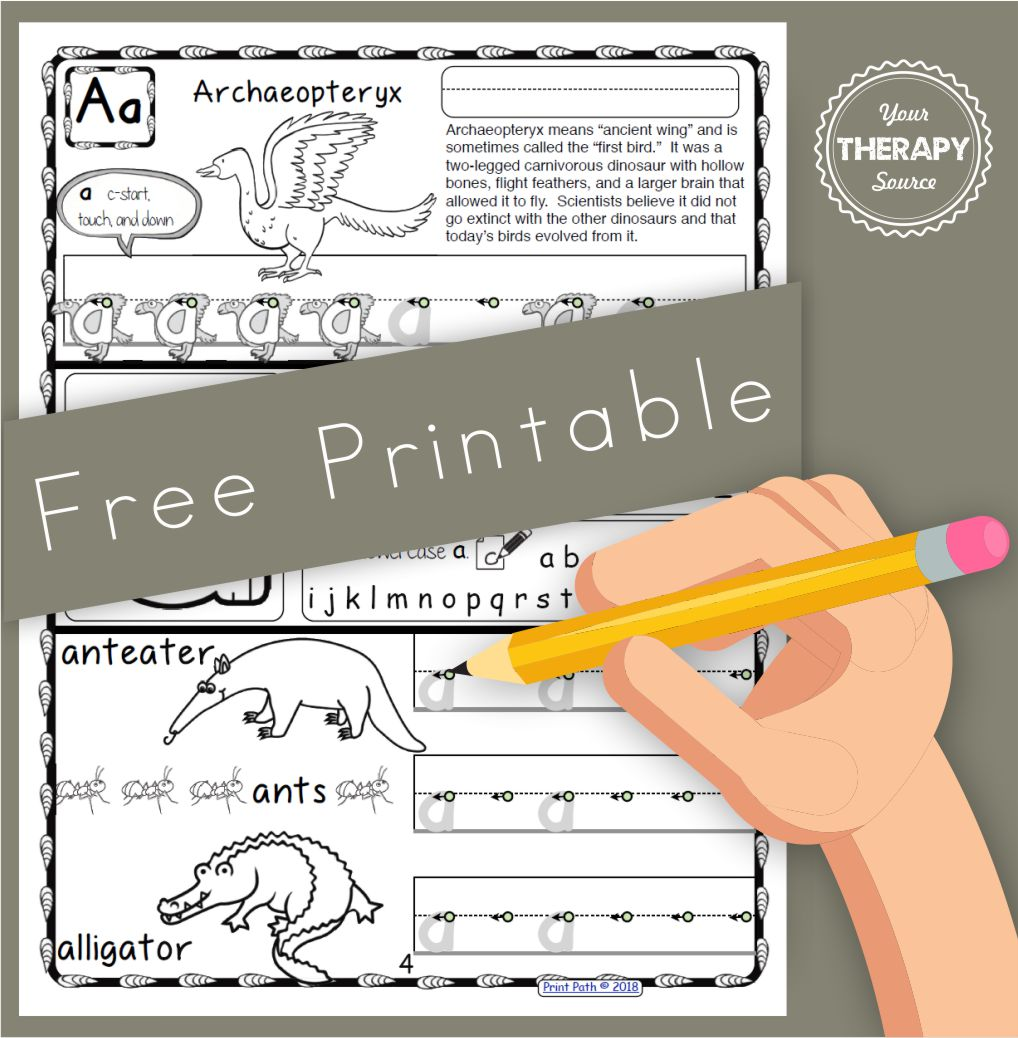Did you know that research indicates that handwriting interventions without at least 20 minutes of handwriting practice are ineffective? Handwriting practice can become boring and a challenge to engage students. Here is a FREE dinosaur handwriting practice page to help motivate those dinosaur loving students.
