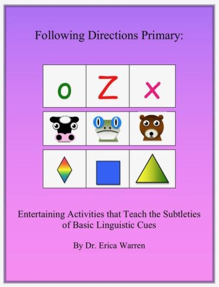 The Following Directions Bundle helps students master the subtleties of linguistic cues and also helps to develop spatial, sequential, memory, attentional and executive functioning skills.