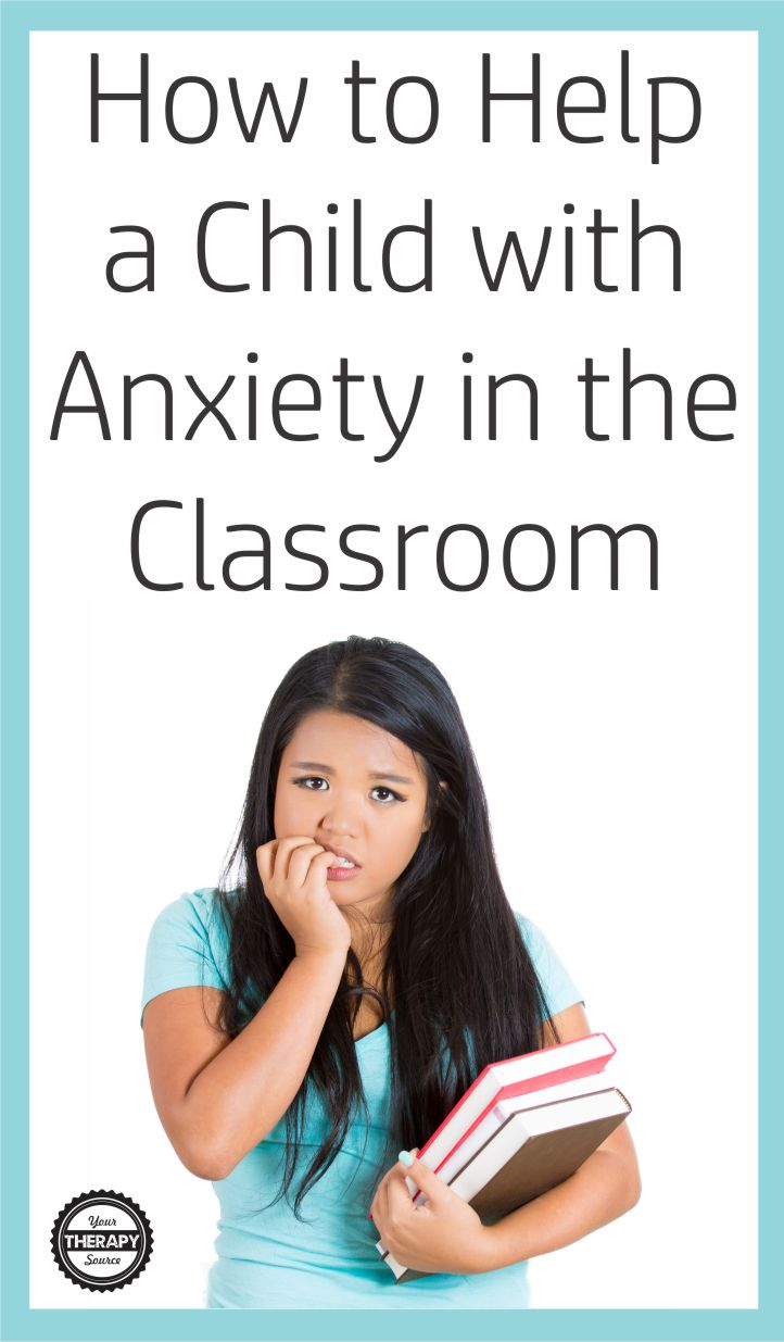 Do you work with children who are anxious at school or at home?  Learn how to help a child with anxiety in the classroom with these 10 interventions.  Parents and teachers can be part of the support system for a child who experiences anxiety.