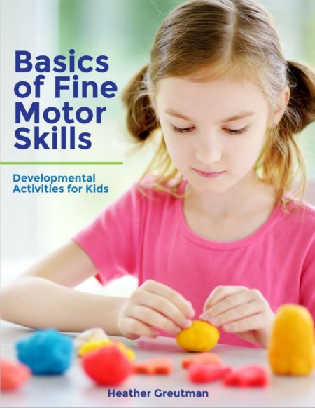 The Basics of Fine Motor Skills is a comprehensive overview of fine motor development that includes age-appropriate fine motor activity suggestions for kids of all ages.  Written by Heather Greutman, COTA, the Basics of Fine Motor Skills explain which skills are important for fine motor development and what fine motor development looks like in children at all age levels.
