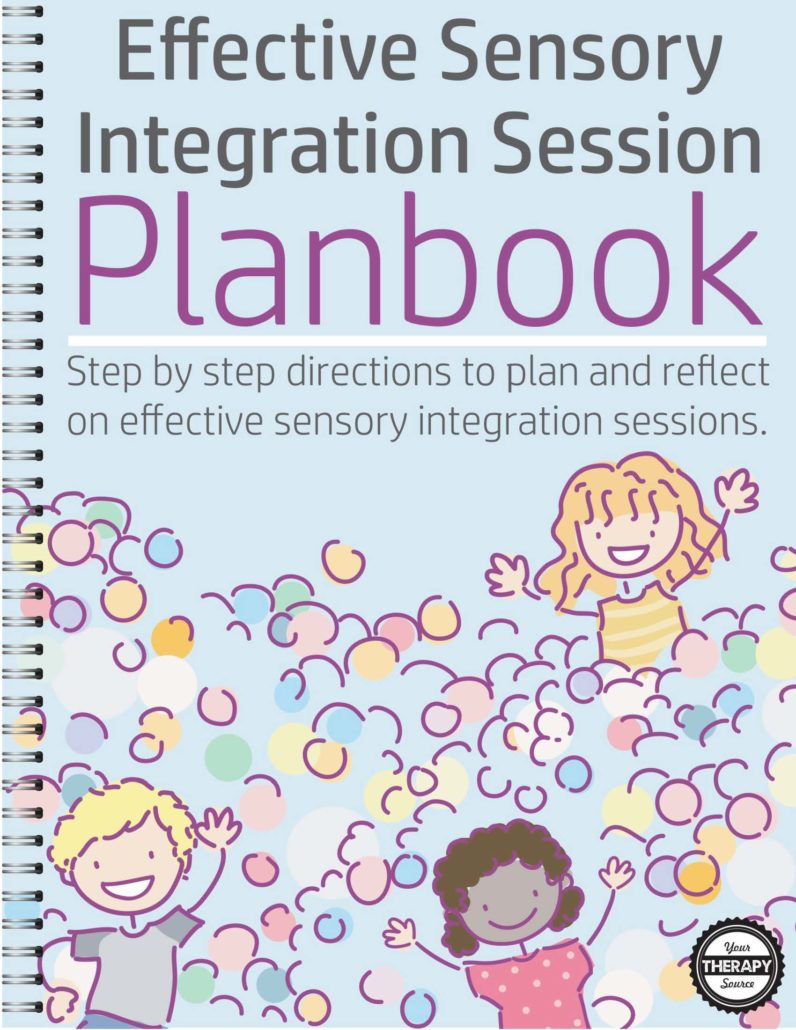 The Effective Sensory Integration Session Planbook digital document provides step by step guidance to plan and reflect on effective sensory integration sessions.  Whether you are a seasoned pediatric therapist or a beginner, it is important to always be prepared and to reflect on your sensory integration treatment sessions.