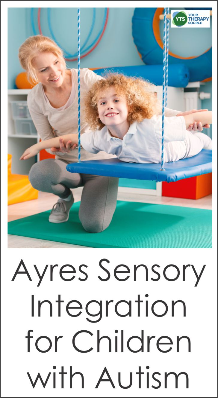 Ayres Sensory Integration for children with autism