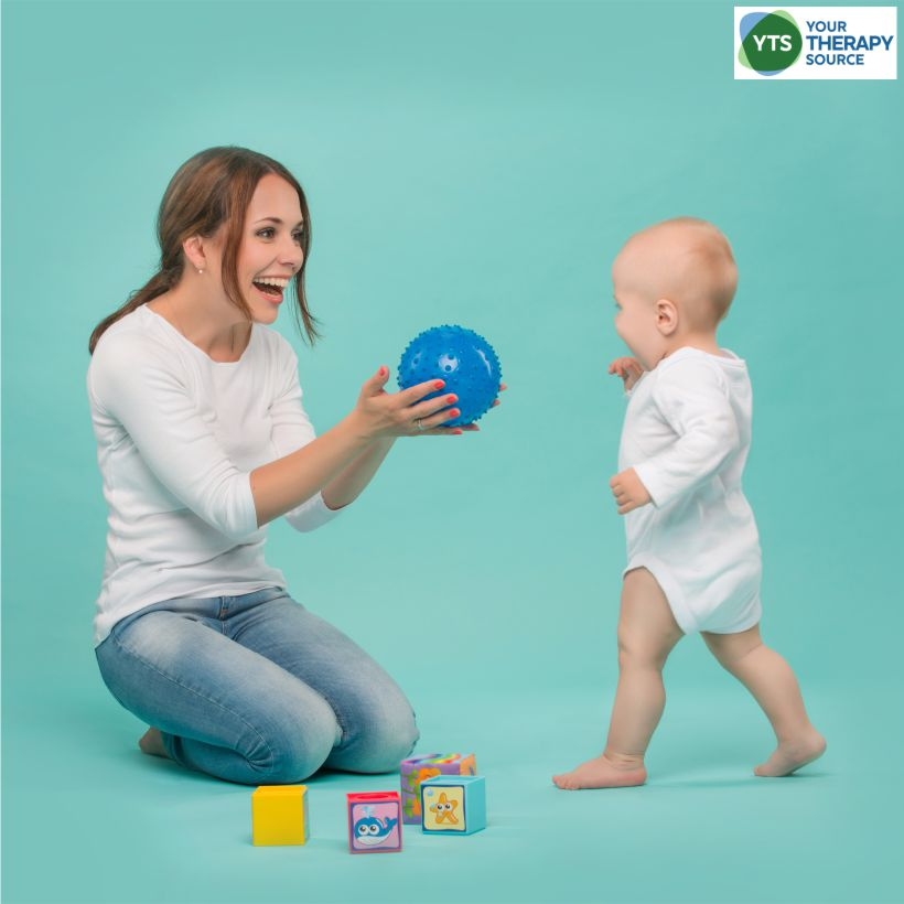 Children need to play to learn.  In today's fast-paced, technology-driven world, children are struggling to develop the foundational skills for play.  Here are 10 gross motor skill activities to help children develop play skills starting as babies. gross motor skill activities
