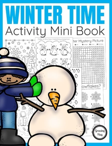 The WinterActivity Bookdigital download includes super FUN puzzles, coloring pages,and mazes to entertain the kids this Winter season.