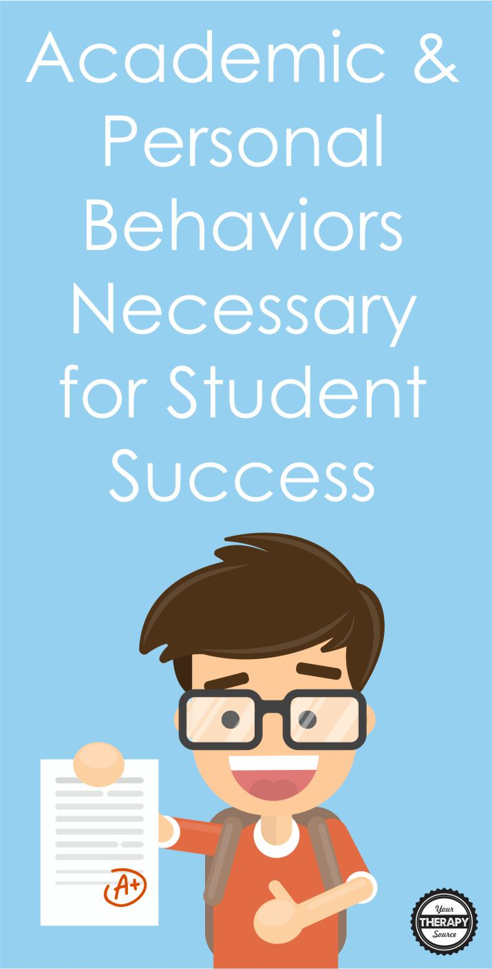 There are many academic and personal behaviors necessary for student success that teachers instill in their students. Doing well in school is not all about good grades. Students need foundational skills in order to be successful students. Some examples are persistence, engagement, work habits, organizational skills, communication, collaboration, and self-regulation.