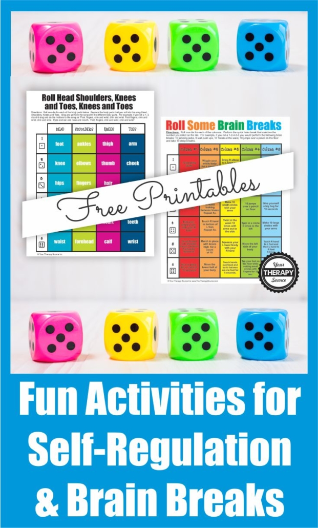 Do you need quick and easy brain breaks for the classroom? You can download two FREE printables that are perfect for the classroom.