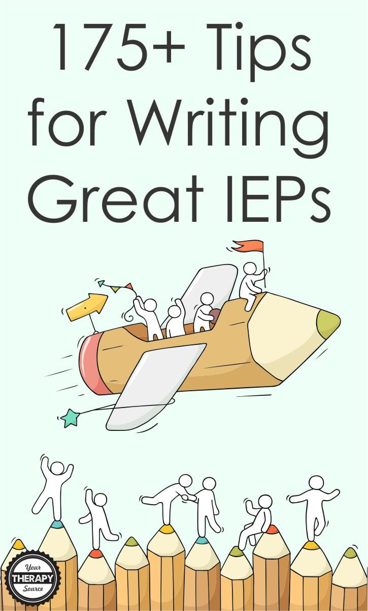 Wow, just wow! We had close to 200 responses to the most recent survey. We asked for your #1 tips and suggestions for writing a GREAT IEP.