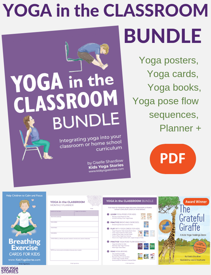 Yoga in the Classroom will help you powerfully teach yoga in the classroom with this wide variety of digital downloads incuding books, cards and posters!