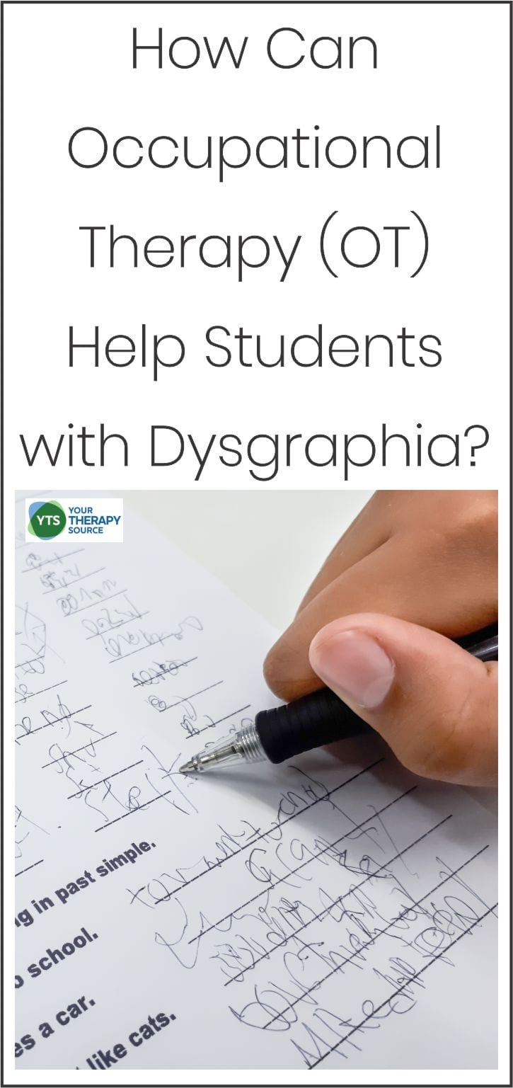 How can Occupational Therapy Help Students with Dysgraphia?