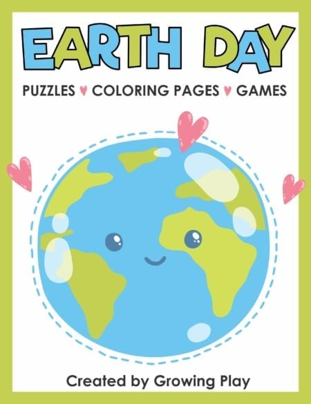 The Earth Day Puzzle Packet includes 13 fun-filled, NO PREP, games, coloring pages and puzzles.  Fun, creative and entertaining for kids!