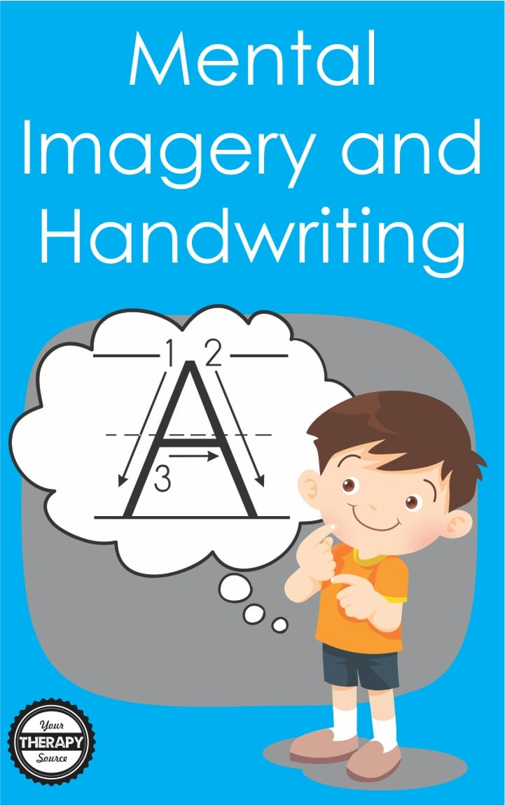Since 40% of all school-based referrals to occupational therapy are for handwriting, the Canadian Journal of Occupational Therapy published research on the effectiveness of mental imagery with repetitive handwriting practice.