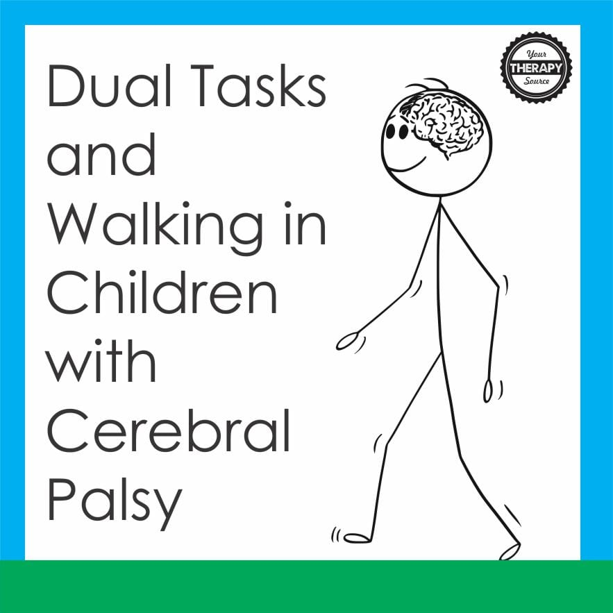 Gait and Posture recently published research on dual tasks and walking in children with cerebral palsy compared to typically developing peers.