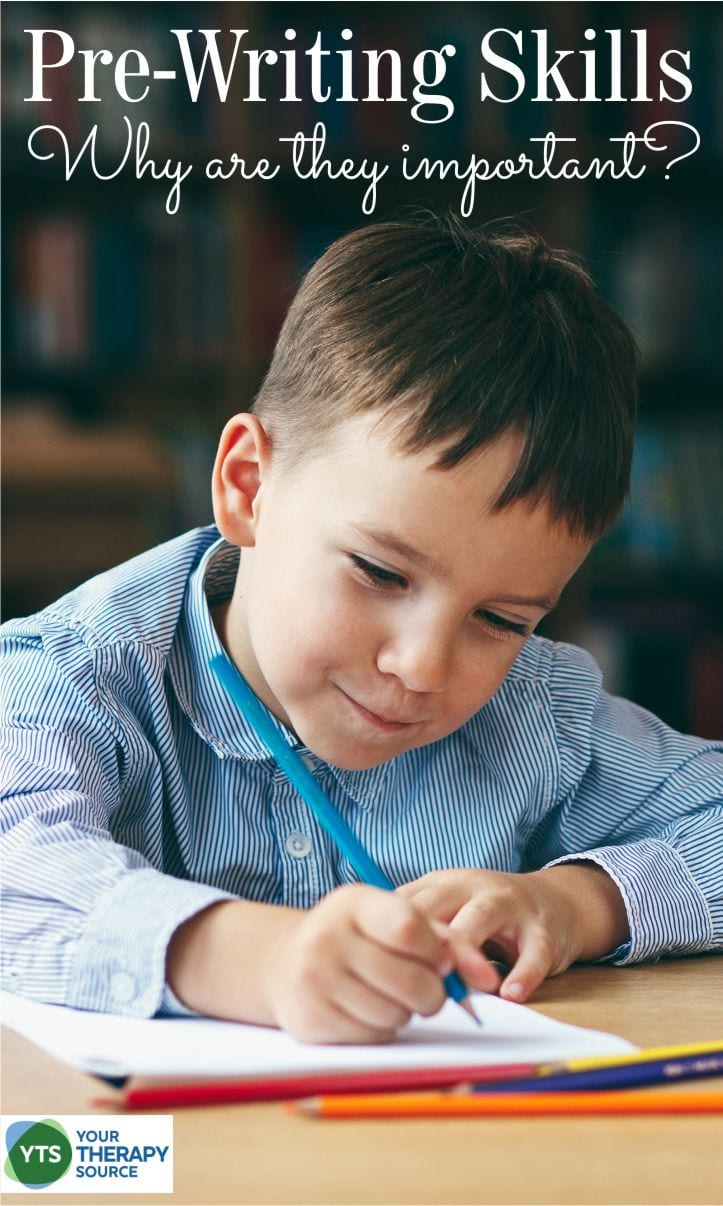 Just like children need to walk before they can run, students need to master pre-writing skills before they can have legible and efficient handwriting.