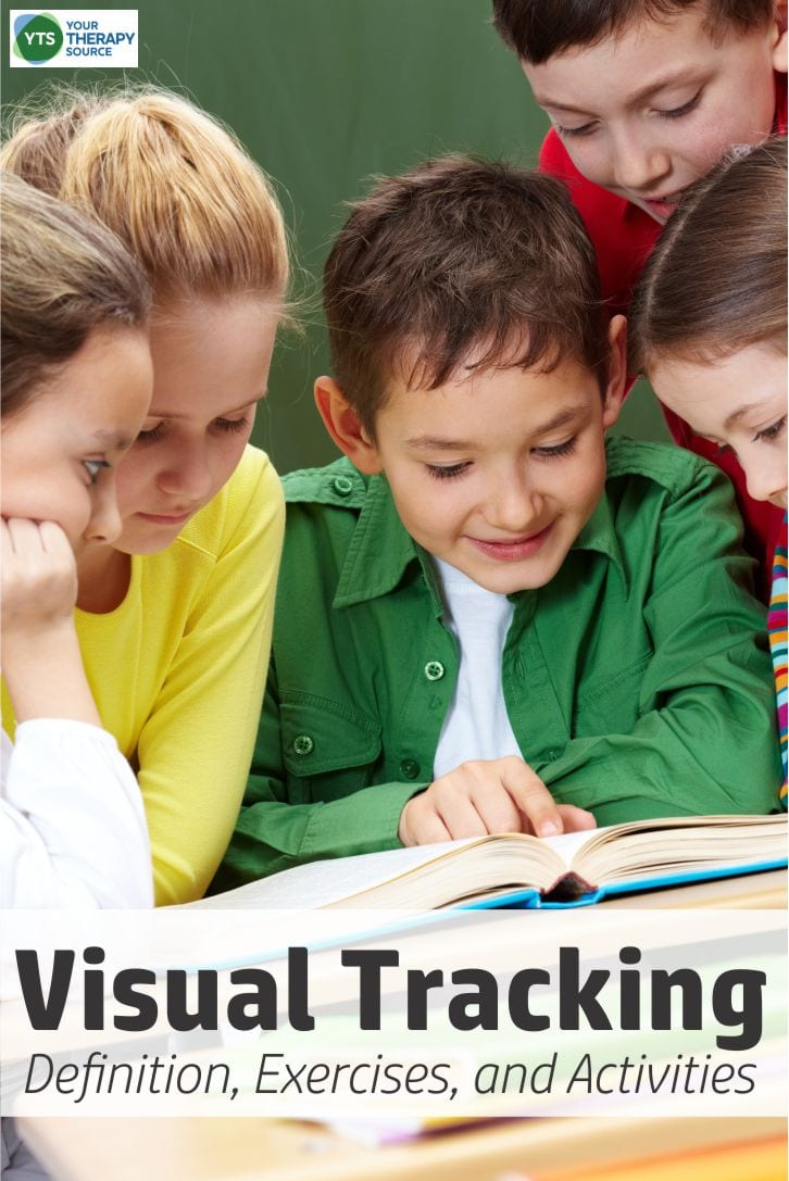 Visual tracking is the ability to control the eye movements using the oculomotor system (vision and eye muscles working together).