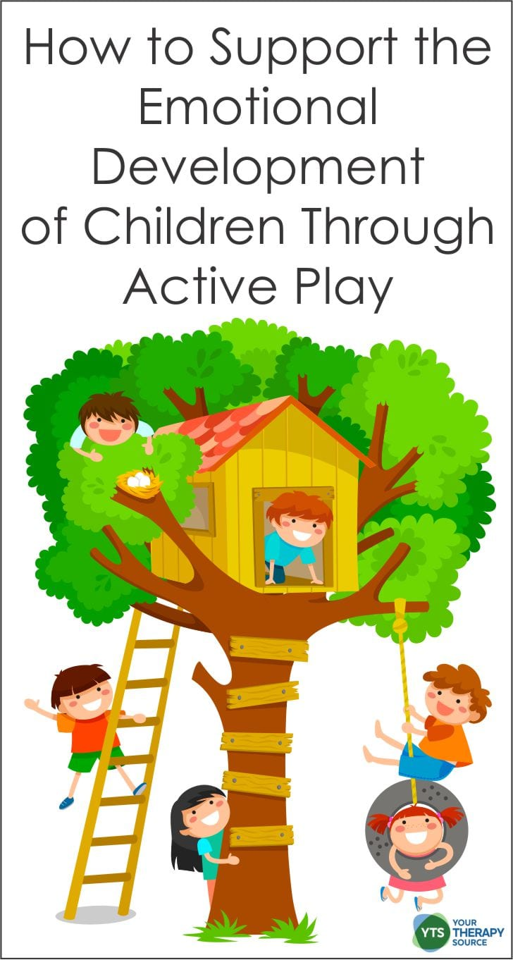 How to Support the Emotional Development of Children Through Active Play