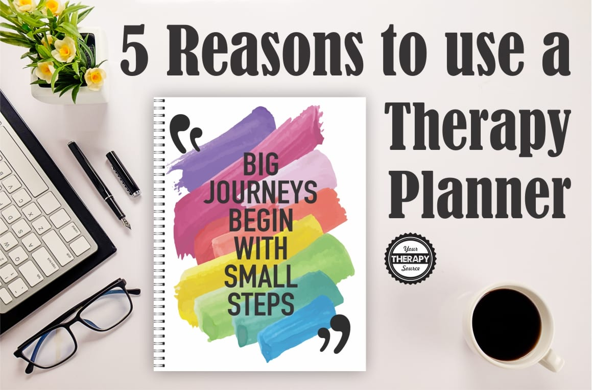 5 reasons to use a therapy planner if you are a school-based therapist