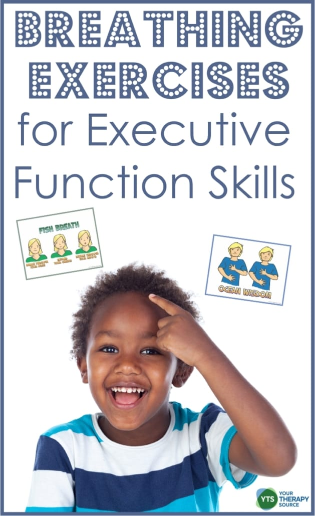 How to use breathing exercises for executive function skills to build basic self-regulation skills, de-stress, recharge, and reset to an optimal mind-body state.