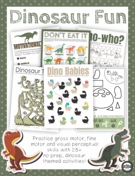 Are you in search of dinosaur games for kids?  This Dinosaur Fun packet includes 25 no prep, puzzles, games, mazes, and activities to print and play.