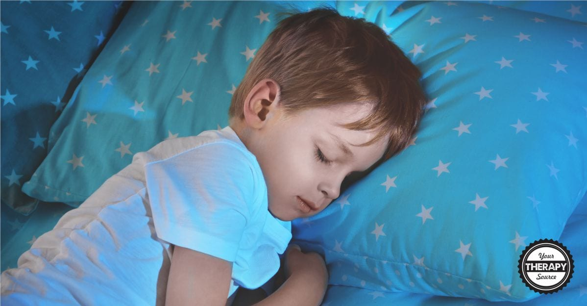 Negative consequences from poor sleep in children with autism and how to get children with autism to sleep. Tips from Your Therapy Source