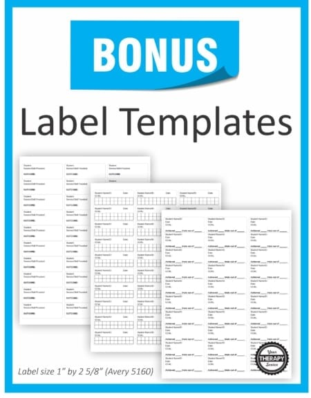 These super easy to use Data Collection for Special Education Templates includes 14 ready-to-go forms to start today collecting data on your students!