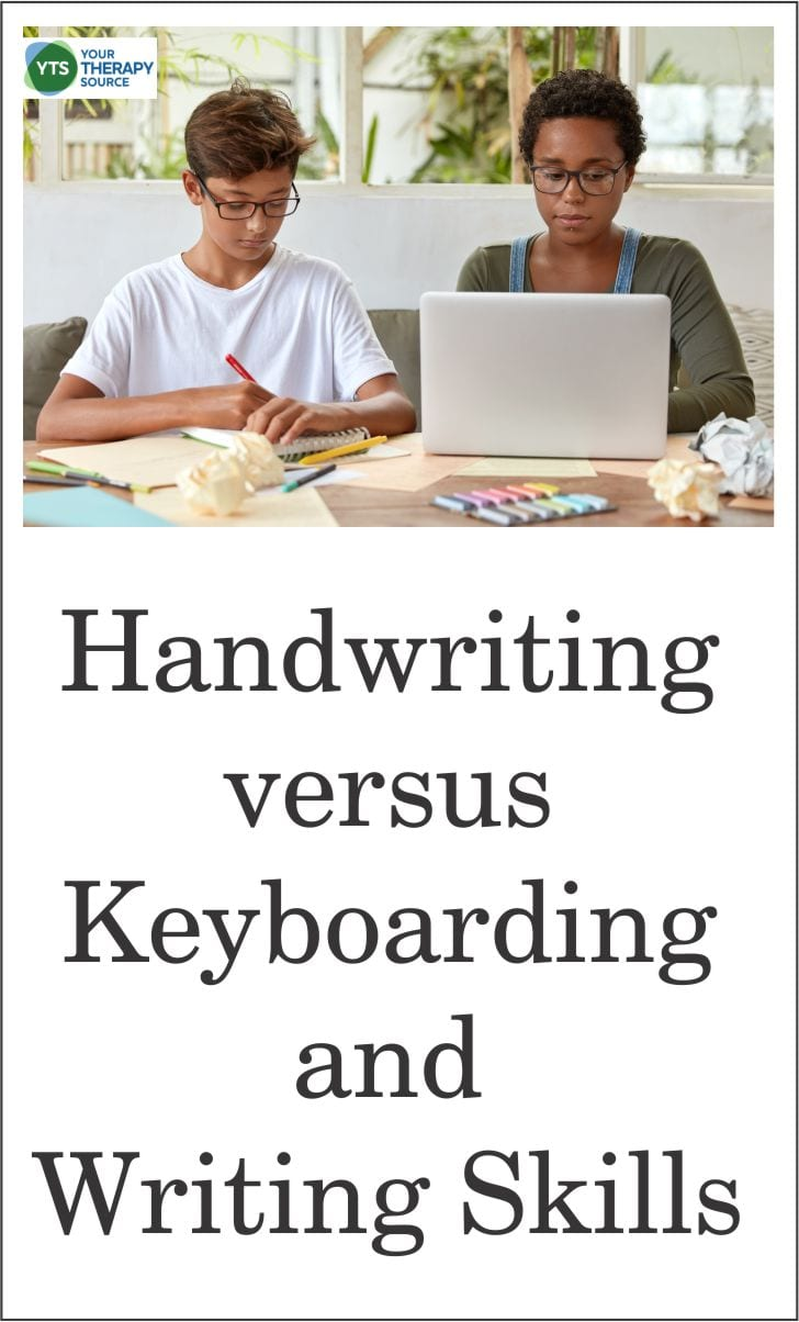 Recent research in Reading and Writing answered the question of handwriting versus typing and writing performance.Blogpost from YourTherapySource