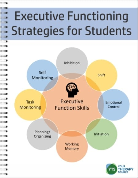 The Executive Functioning Strategies for Students digital workbook is a step by step guide to help boost your student's working memory, impulse control, focus, emotional control, organization, planning, and self-monitoring!