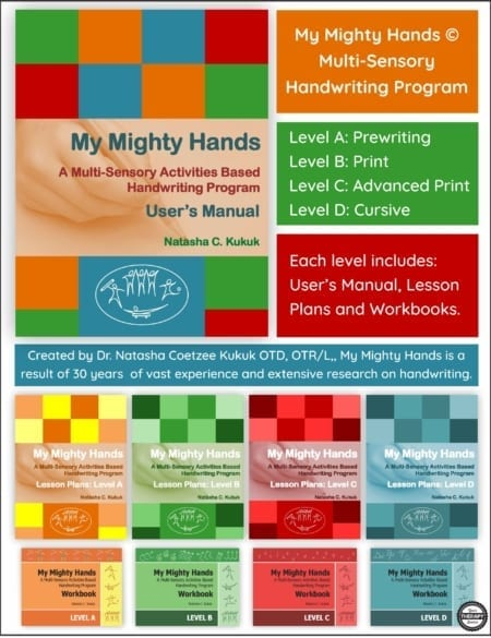 Handwriting Program My Mighty Hands