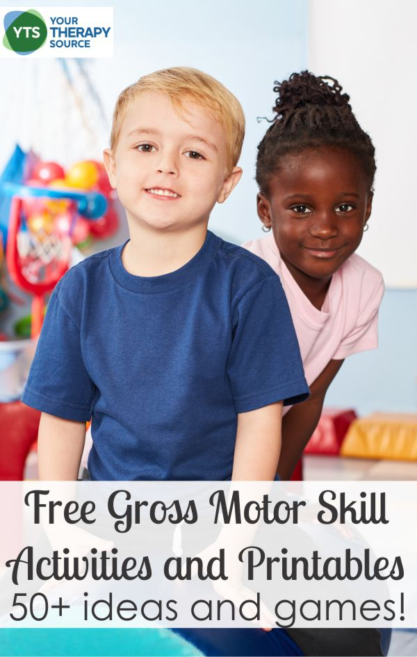 Enjoy looking over all of our free gross motor skills activities. This collection of gross motor skills worksheets and printables provide a huge assortment of creative, fun activities for children.