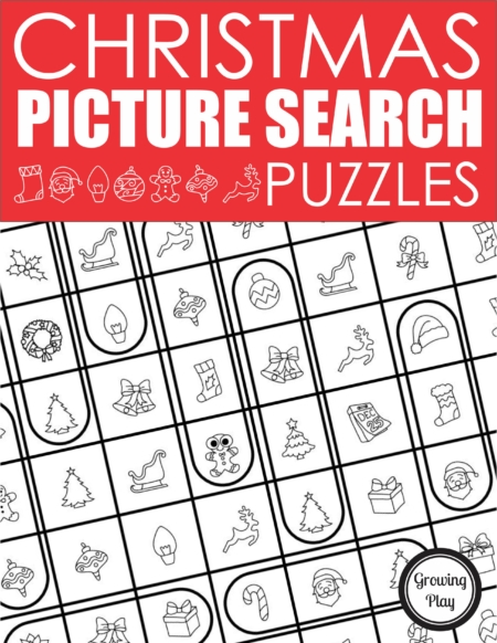 This Christmas Puzzlers Packet includes two FUN, unique, puzzle challenges for children to encourage critical thinking, executive functioning, visual discrimination, visual motor, visual spatial, and handwriting skills.