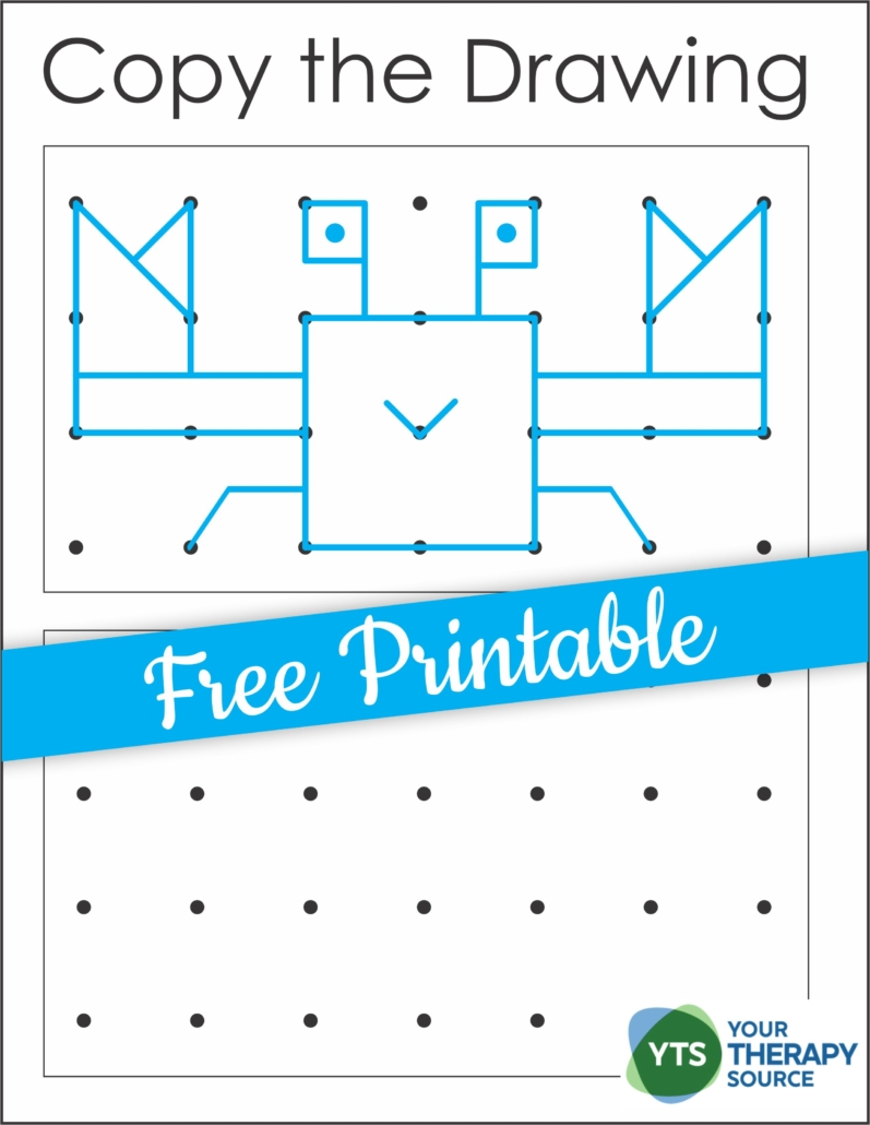 This packet of Spatial Awareness Puzzles - Copy the Drawings includes over 30 dot to dot diagrams to practice visual motor and visual spatial skills.