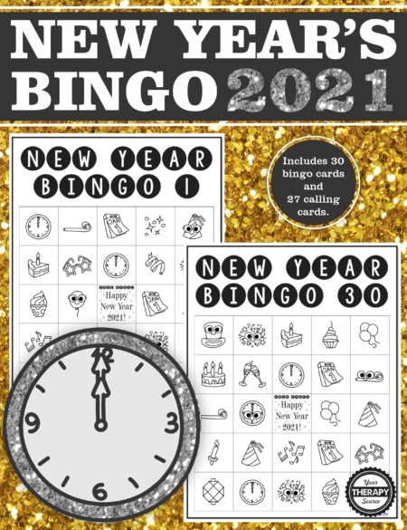 New Year Bingo 2021