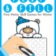 The Winter Fine Motor Activities – Flip and Filldigital download includes 15 different winter-themed game boards to practice fine motor skills and encourage hand strengthening.