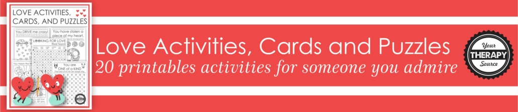 Puzzles about Love Activities Cards and Puzzles