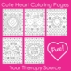 Love is in the air this time of year! These cute heart coloring pages are easy to color and guess what they are free!