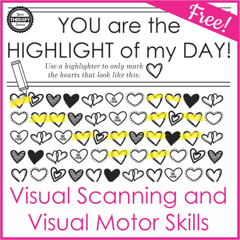 If you looking for a cute appreciation activity for Valentine's Day, Teacher Appreciation Day, or anytime you want to lift someone's spirits, check out this fun You are the Highlight of My Day printable.  You can download it for free at the end of the blog post.