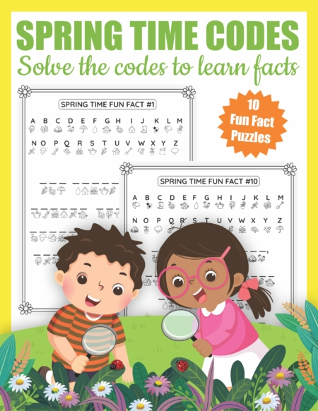 This Spring Code puzzlers packet is perfect to encourage executive function and visual motor skills.