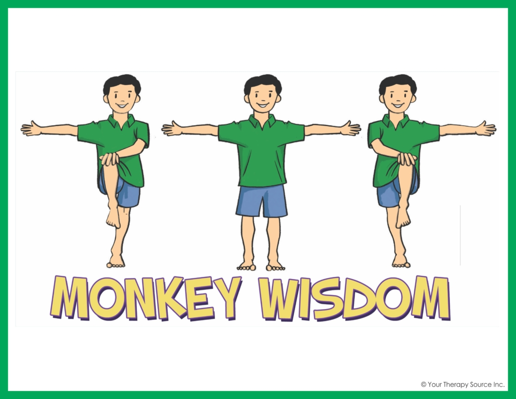 Monkey Wisdom from the Adventure Skill Cards Set
