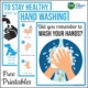 The best way to prevent spreading germs and to stay healthy is to teach children proper hand washing techniques. Here are 3 free hand washing posters for schools with step by step visual directions from Your Therapy Source.