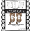 Copy Cat Visual Motor Integration Worksheets