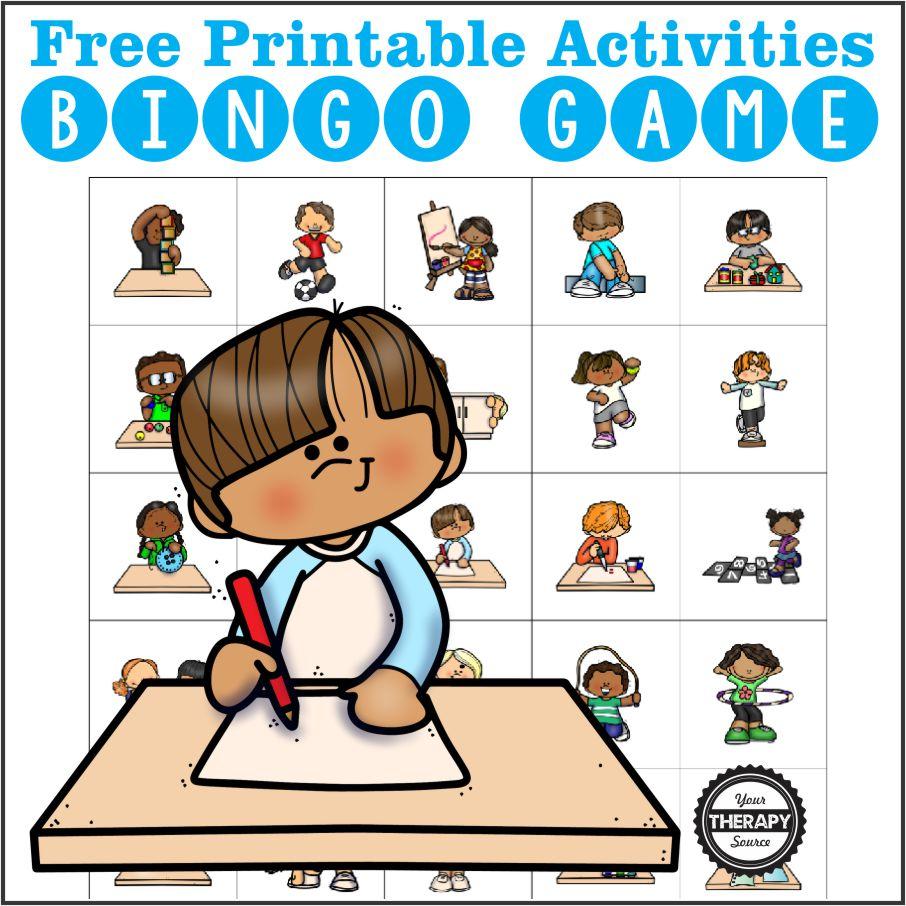 Photo of Activity Bingo – Free Printables