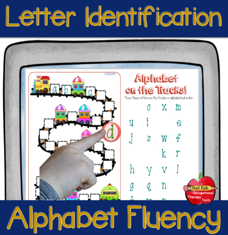 If you are using a screen-sharing platform such as ZOOM or THERAPlatform with your students and telehealth clients, these distance learning alphabet tasks are differentiated activities that allow your student to perform fun and engaging tasks without extra materials or paper.