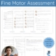 The Telehealth Fine Motor Assessment - Functional Skills was created by a pediatric Occupational Therapist, Melanie Criss, DOTR, OTR/L, with over ten years of teletherapy experience.