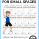 This Cardio Aerobic Exercises for Small Spaces digital download packet includes 15 aerobic exercise sheets including QR codes with links to animated video demonstration of each exercise.
