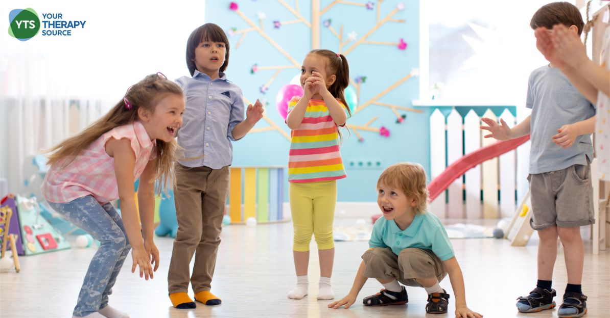 These six games provide great suggestions for physical or occupational therapy self regulation activities and require no equipment!