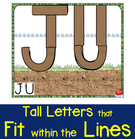 This drag-and-drop Capital Letter Formation #1 activity, created by school-based OT, Thia Triggs, uses lines and curves to build letter identification and formation skills.