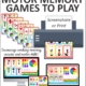 Looking for activities that incorporate movement with working memory skills? This digital packet of Motor Memory Games includes 5 games to memorize colors and move your body
