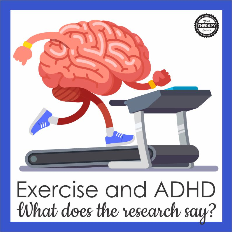 There has been many studies on exercise and ADHD that indicate a possible beneficial effect on functional outcomes for children with ADHD.